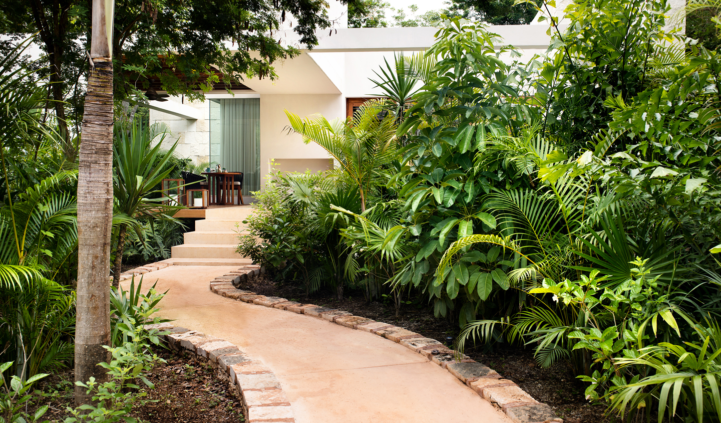 Your home in the gardens of the Yucatan