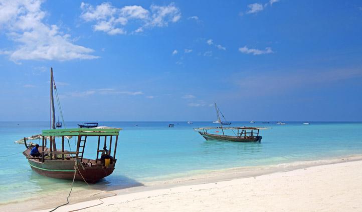 Cast away in Zanzibar