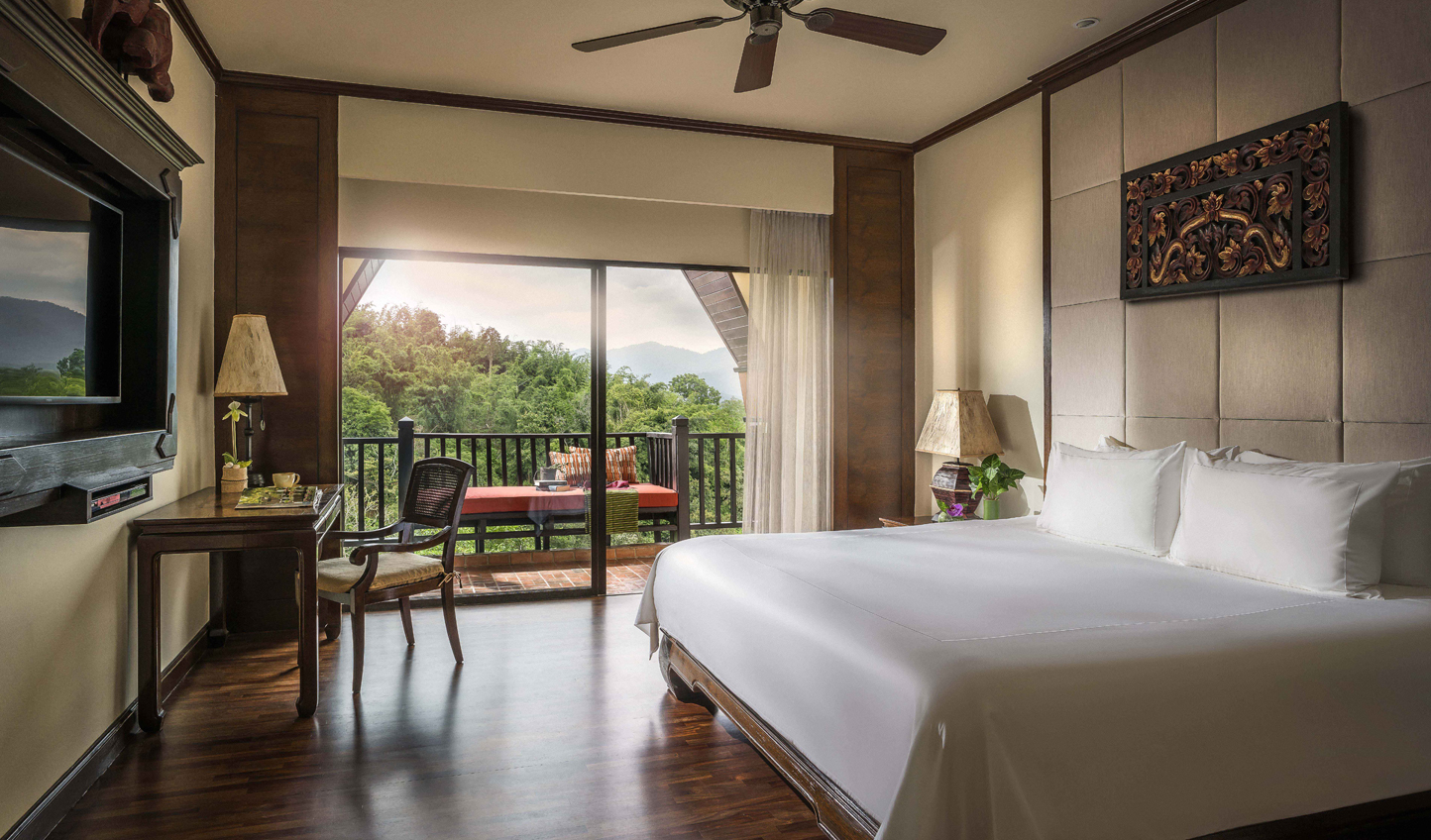Sophisticated rooms with touches of Thai tradition