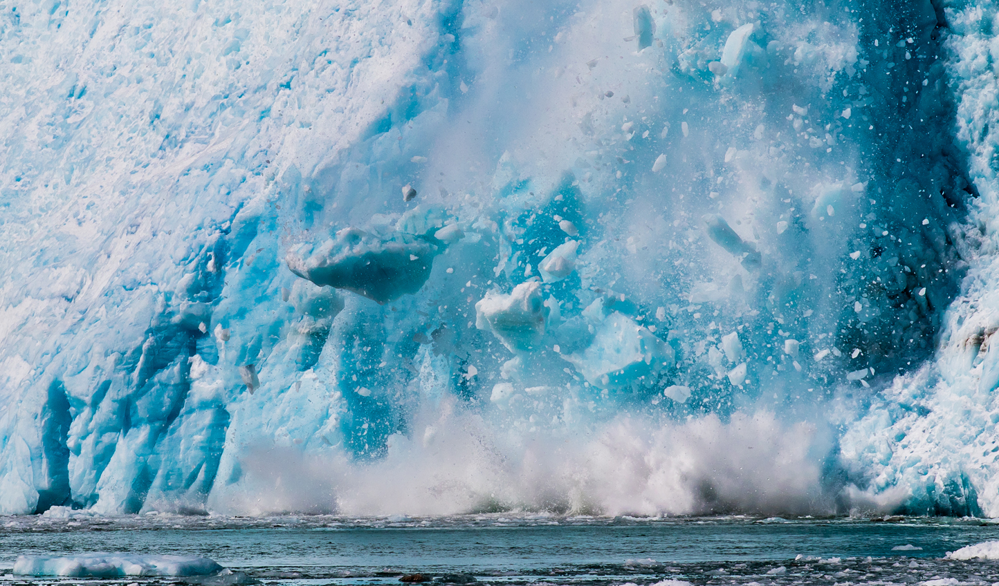 Head out into Kenai Fjords National Park and watch in awe as hunks of ice crash off the Harding Icefield