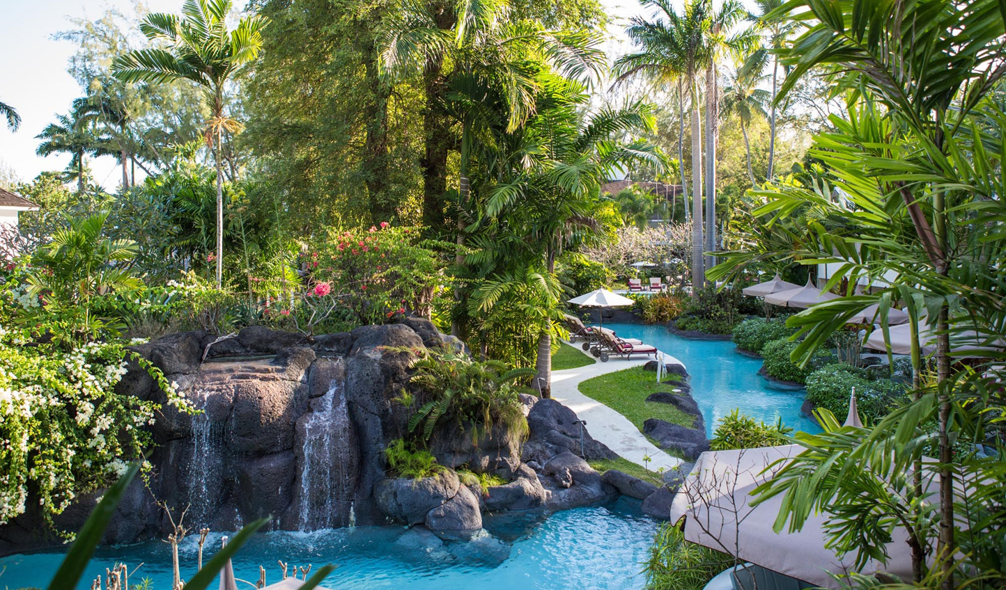 Unwind in a tropical paradise