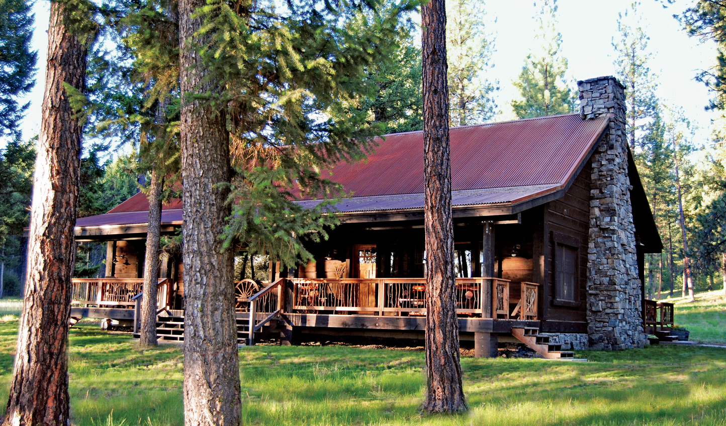 Retreat to the wilderness in style