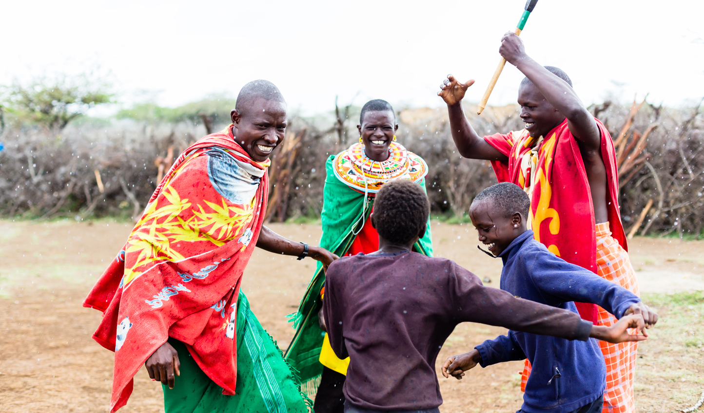Discover the colourful culture of the Maasai