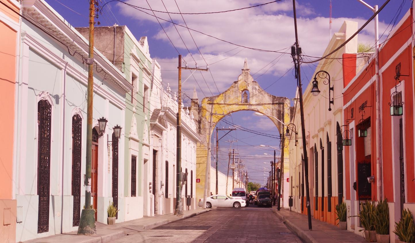 Stroll through Merida's charming streets