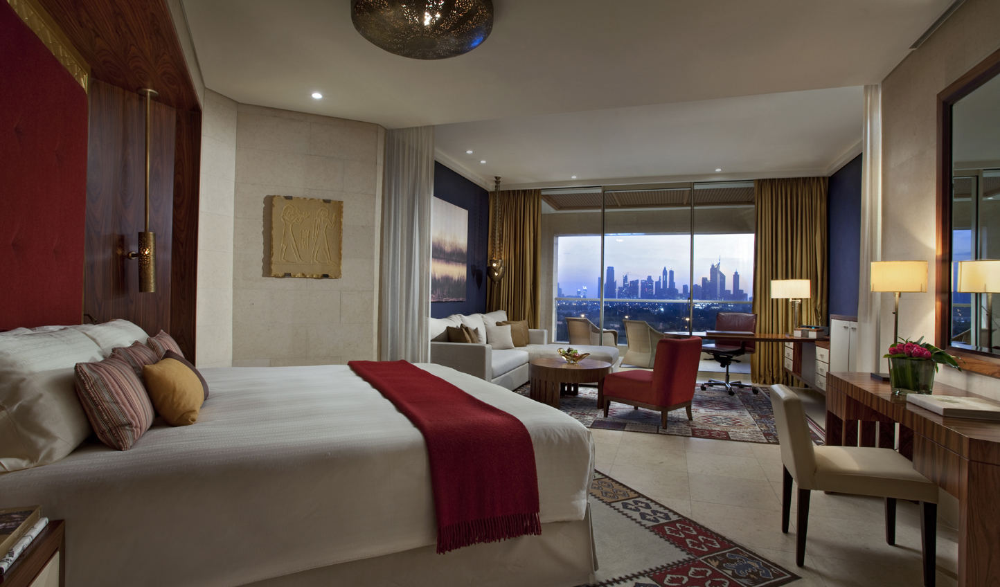 Enjoy some of Dubai's most spacious hotel rooms