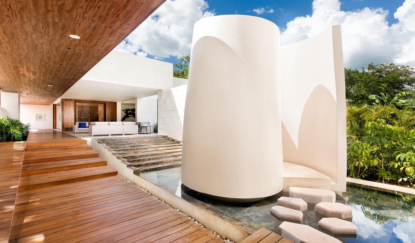 Indulge in some serious pampering at the spa at Chable