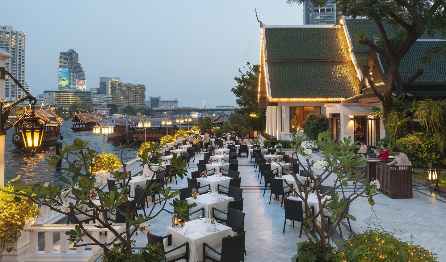 Savour authentic Thai cuisine on the Chao Phraya River