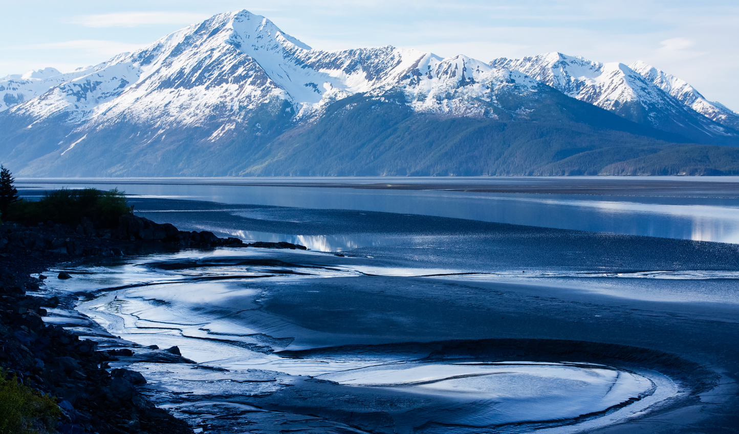 Follow every twist and turn of Turnagain Arm