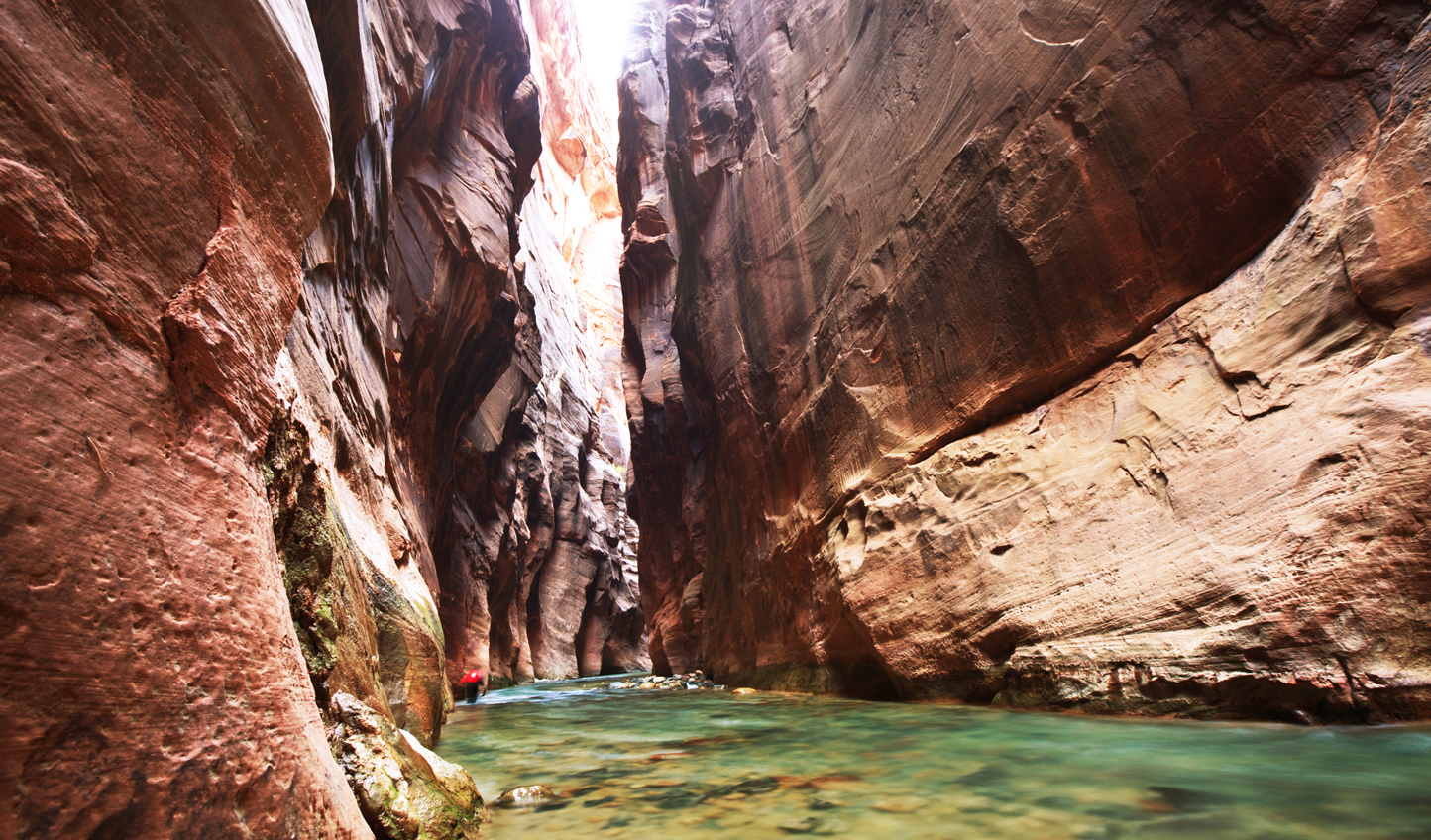 Squeeze through the Narrows in Zion