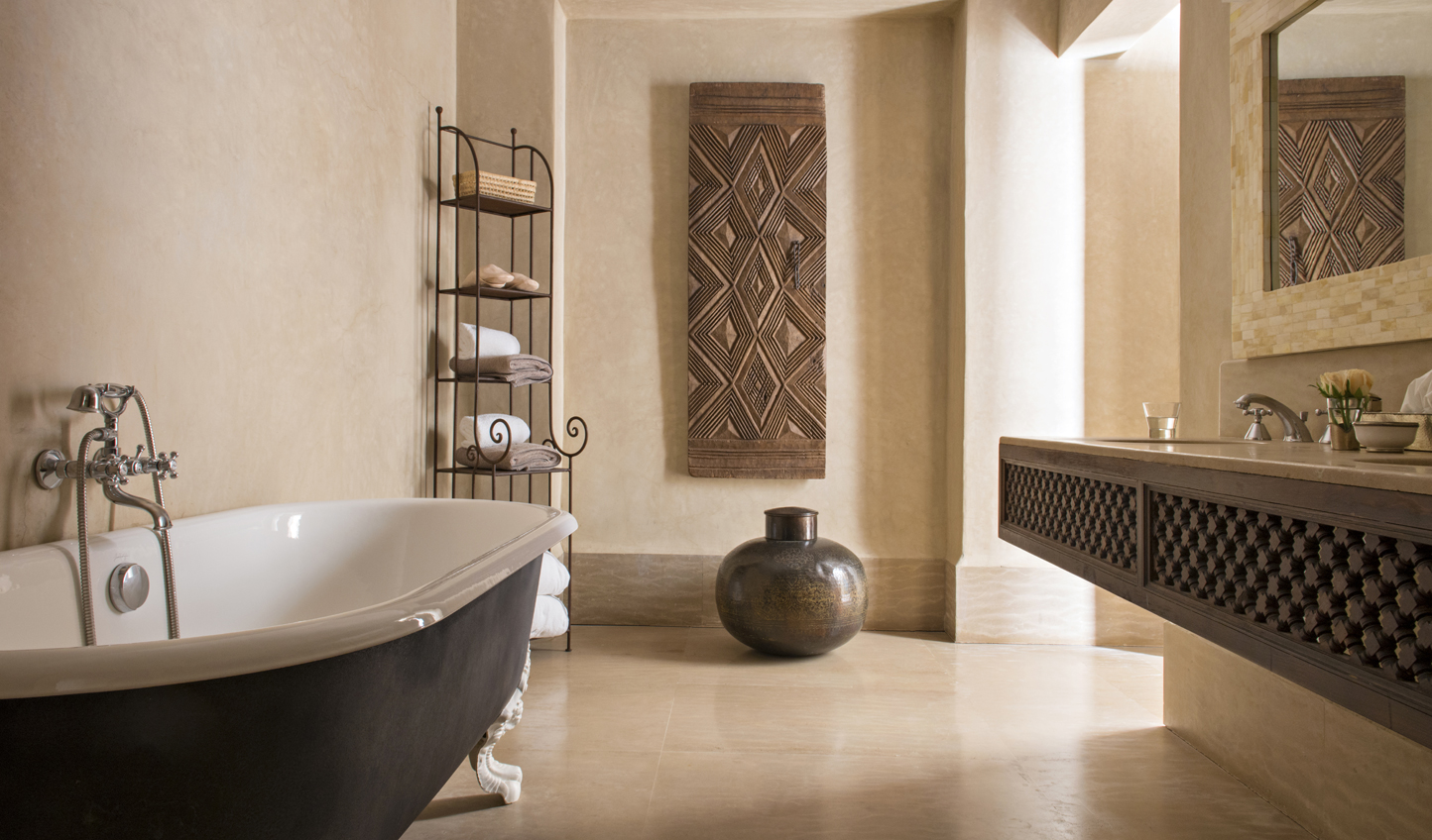 Sink into a sumptuous tub