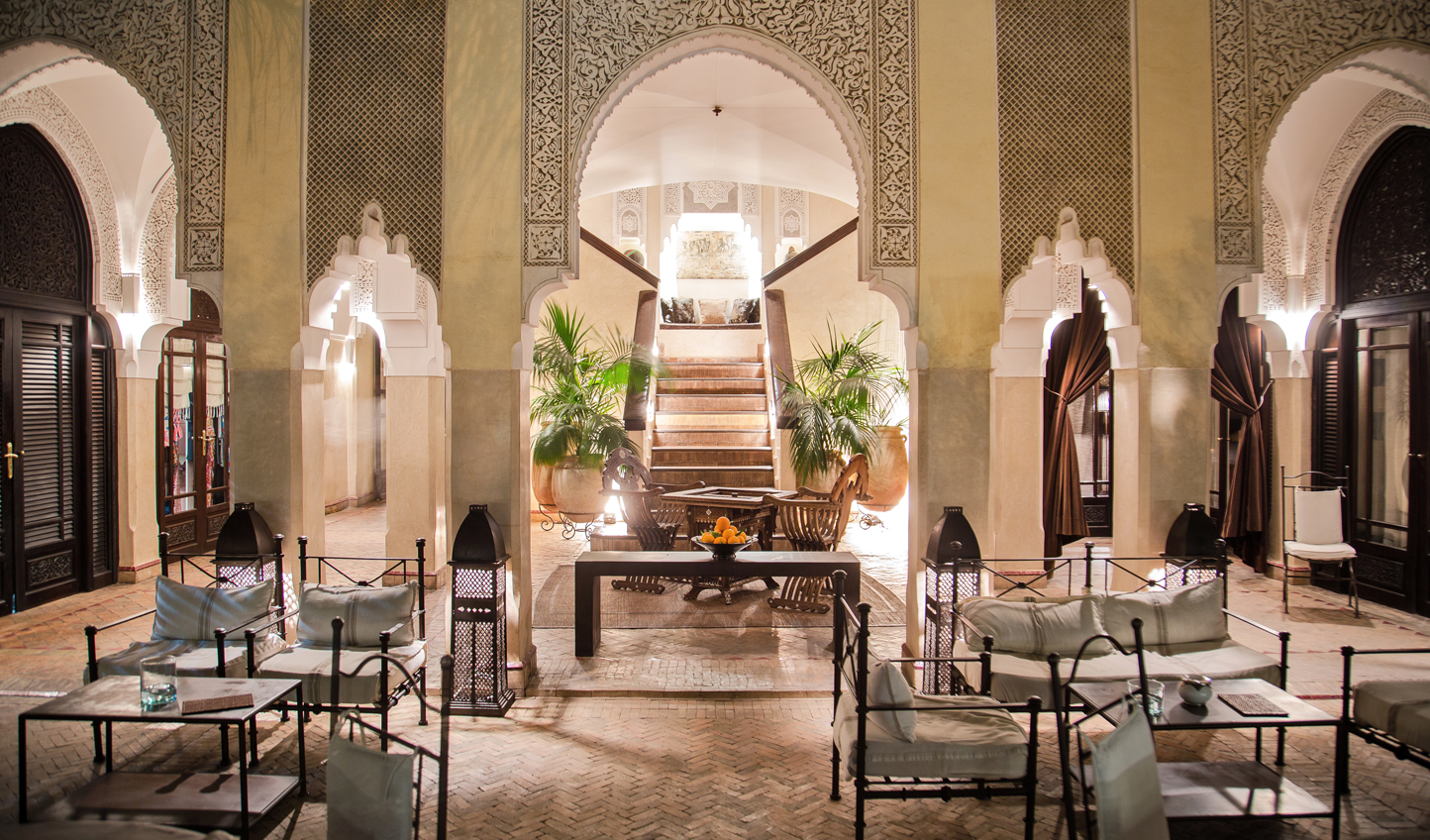 Step into a luxurious Riad in the heart of Marrakech