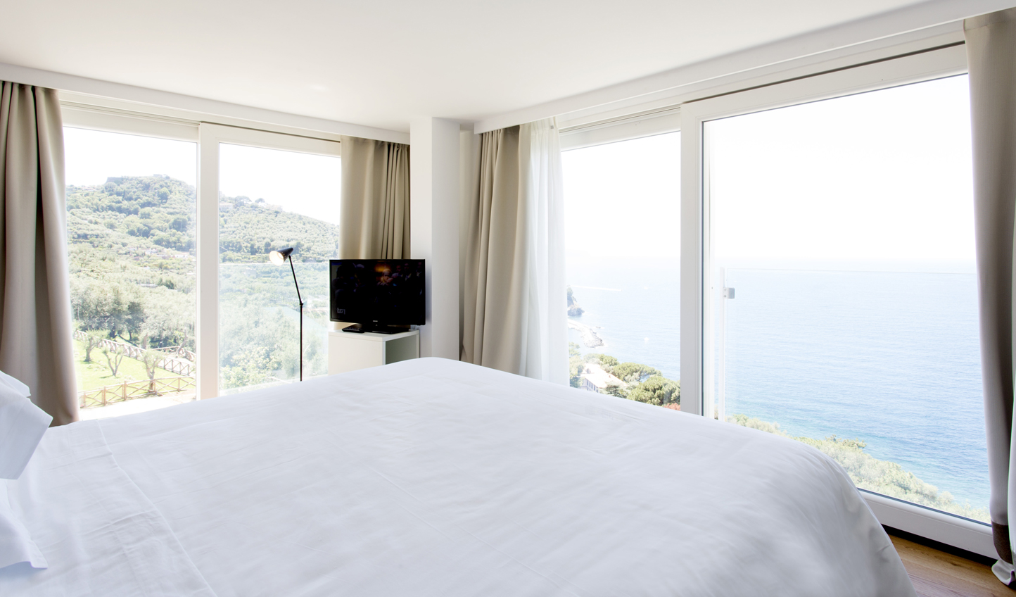 Wake up to breathtaking sea views