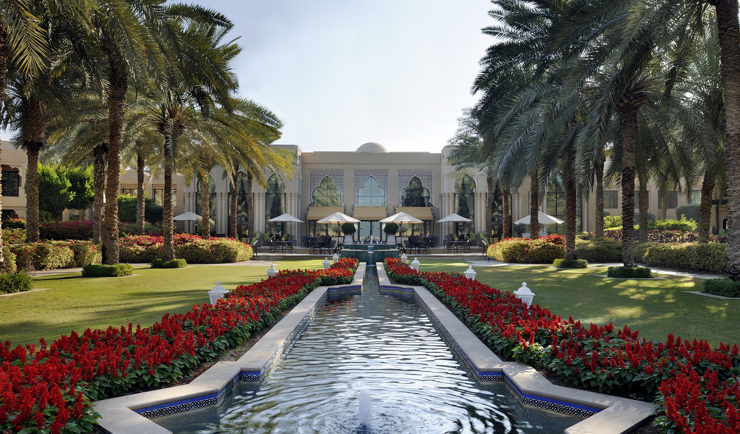 Stroll through the beautiful manicured gardens