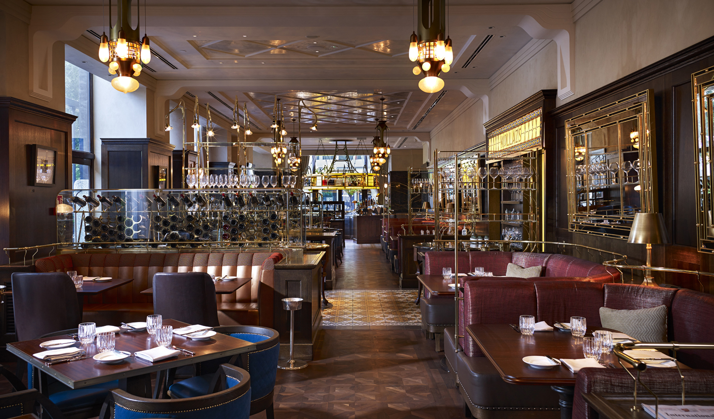 Dine from morning till night in Kollazs Brasserie