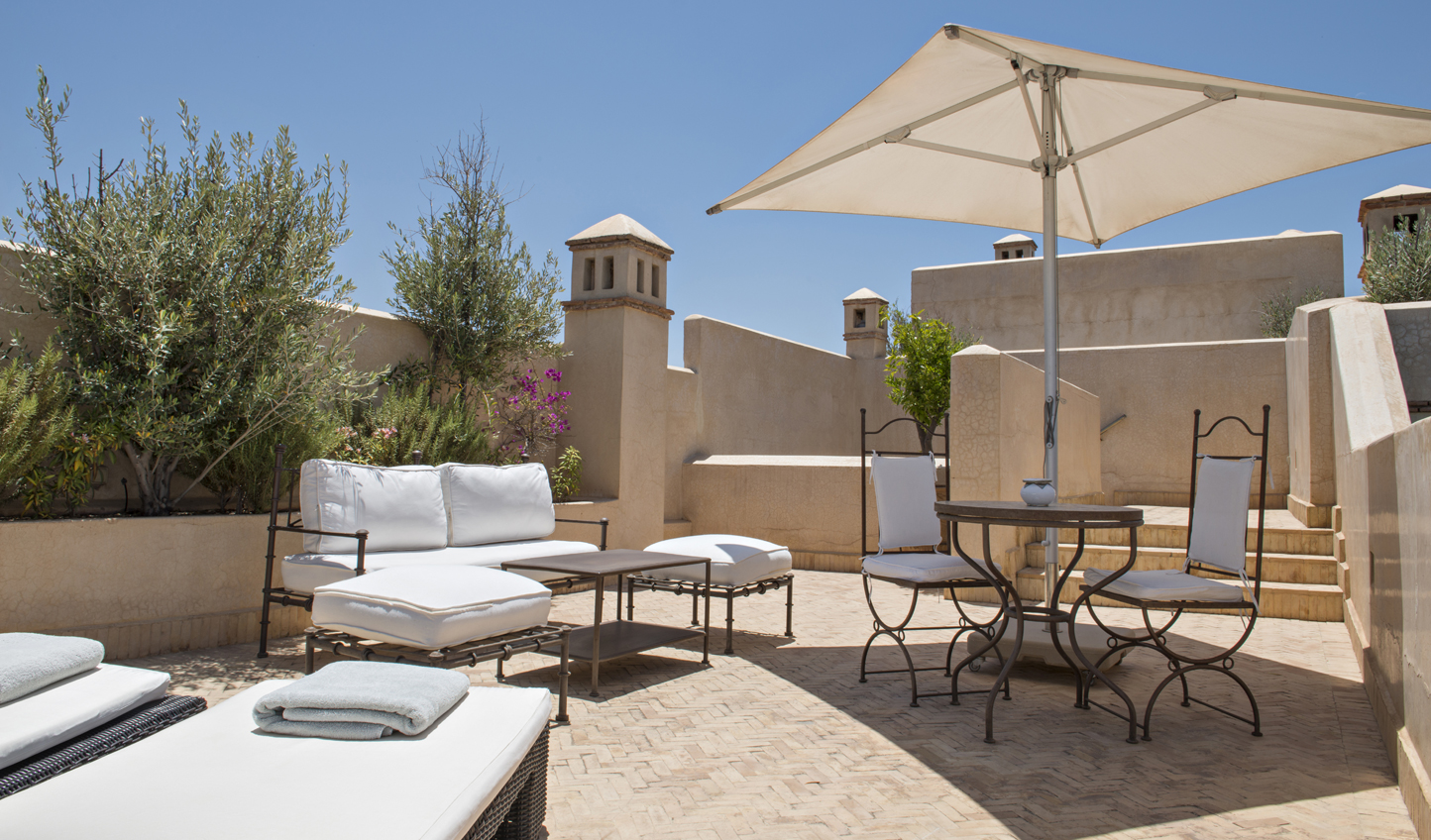 Catch some rays on your private terrace