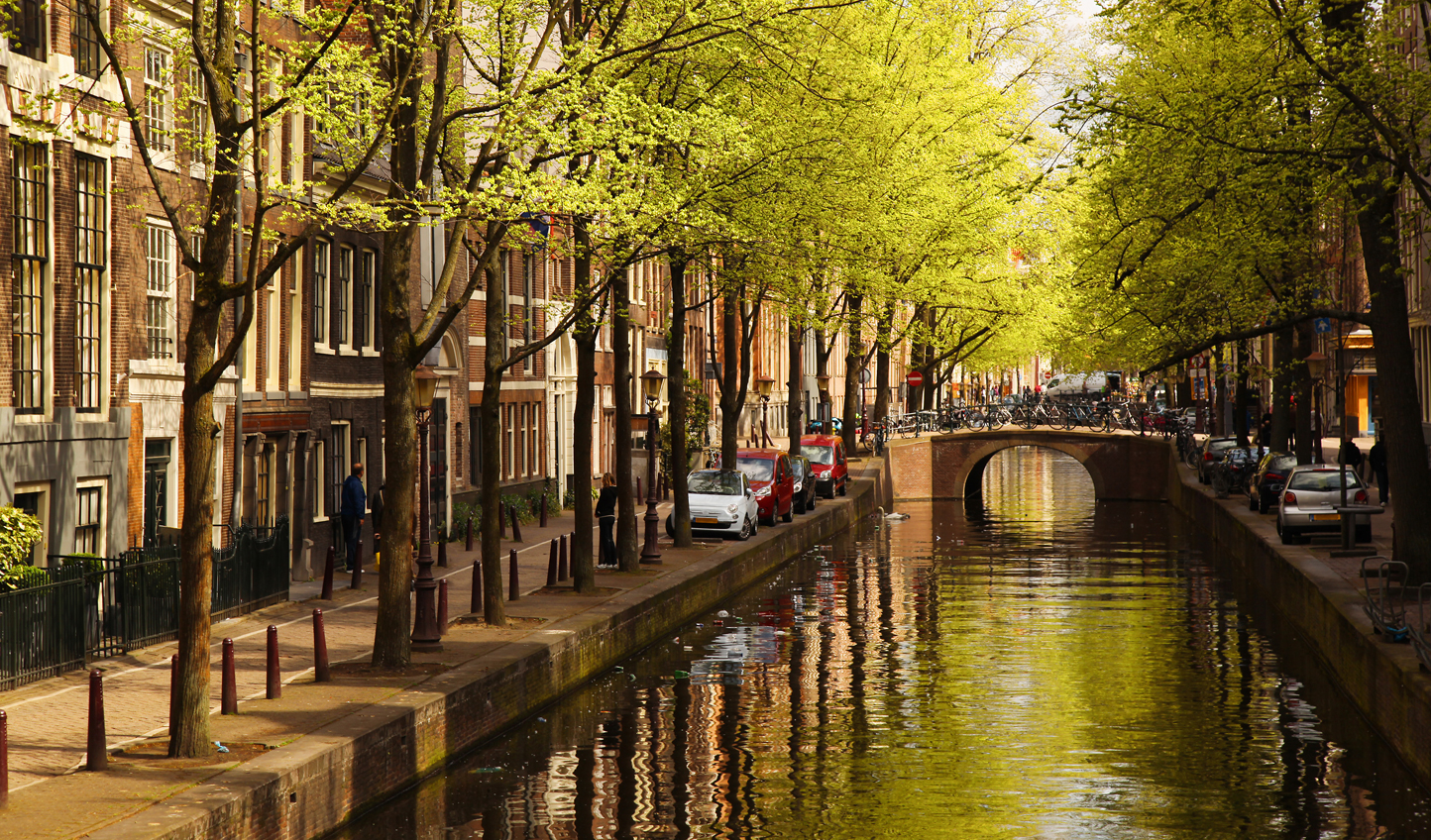 Wander down the canals
