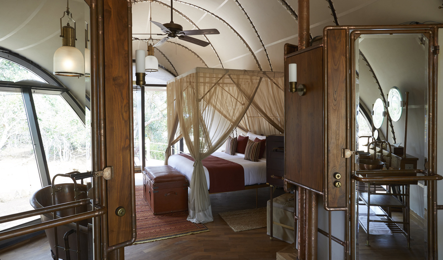 A beautiful space to cocoon yourself in