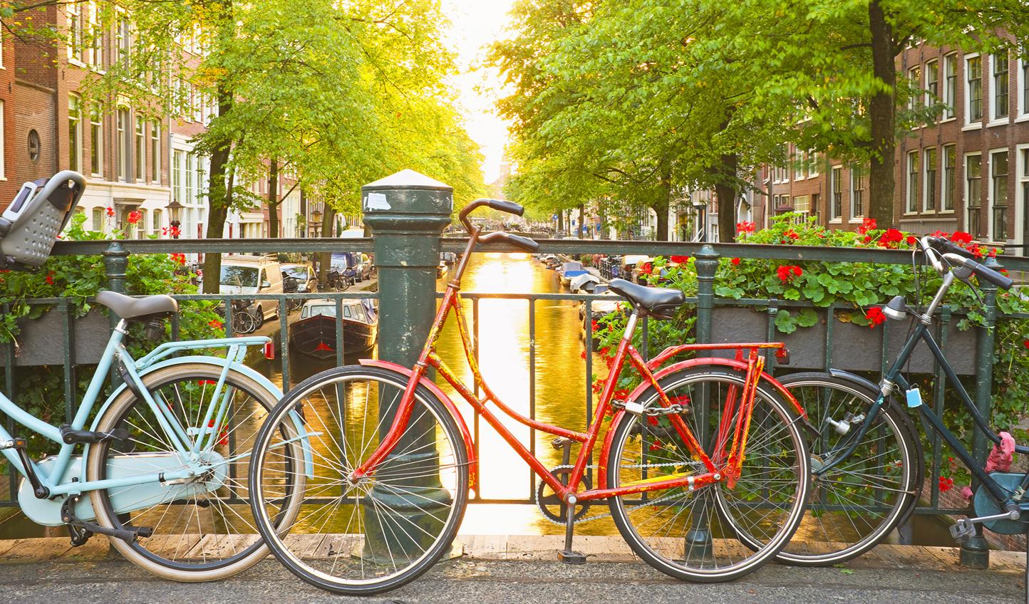 Do as the Dutch do and jump on a bike