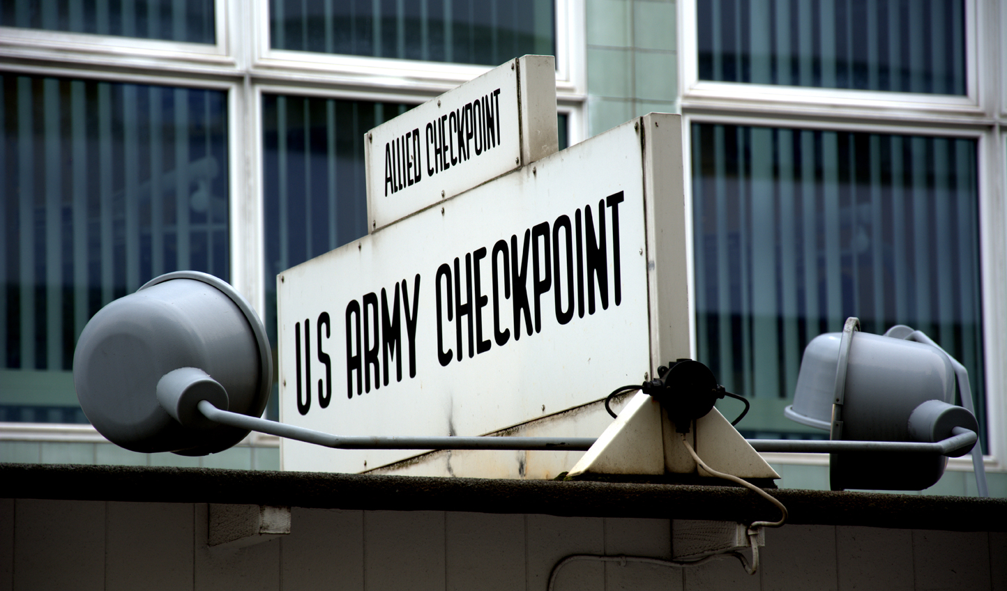 Stop off at Checkpoint Charlie