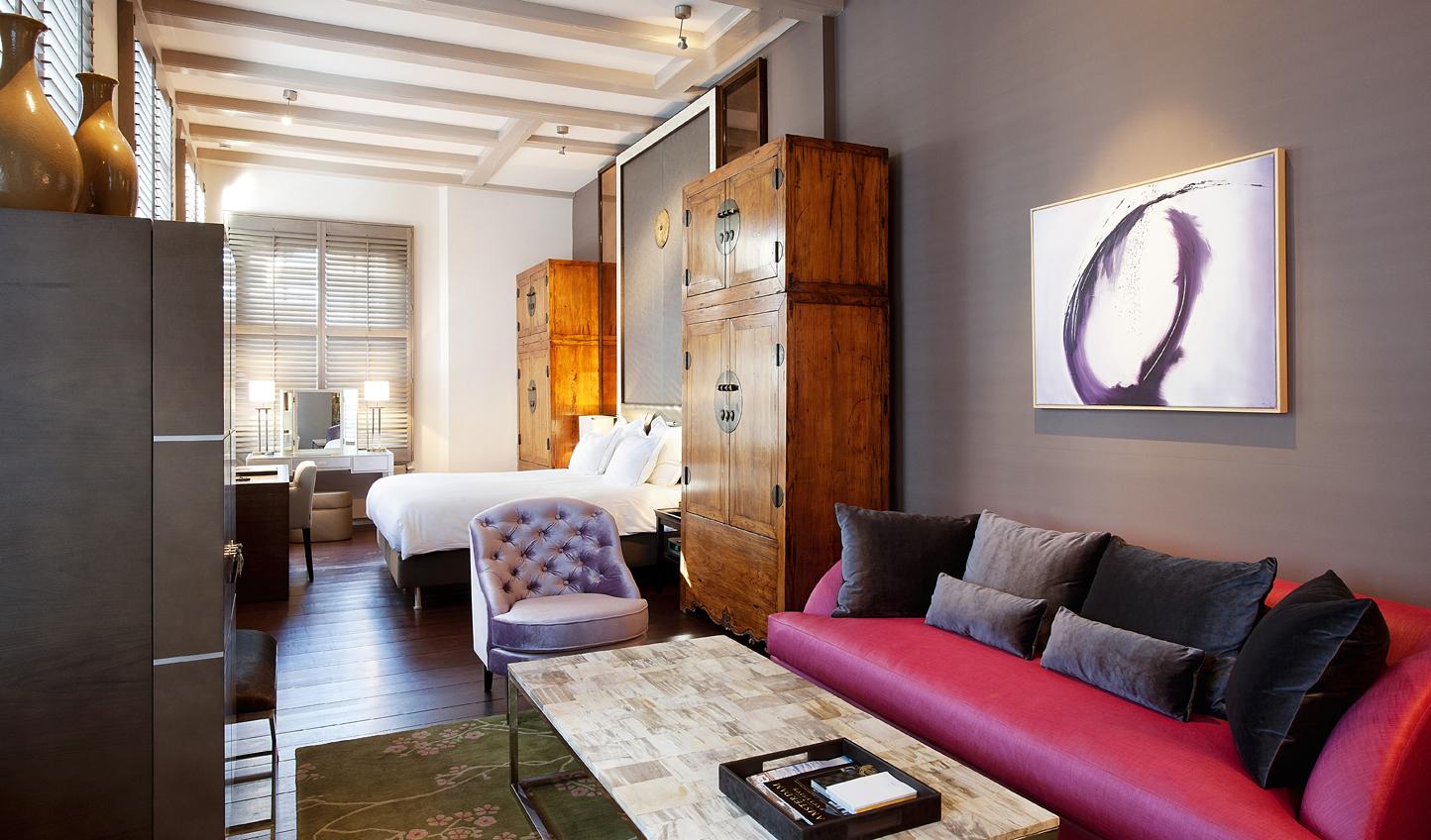 Unique decor in every room