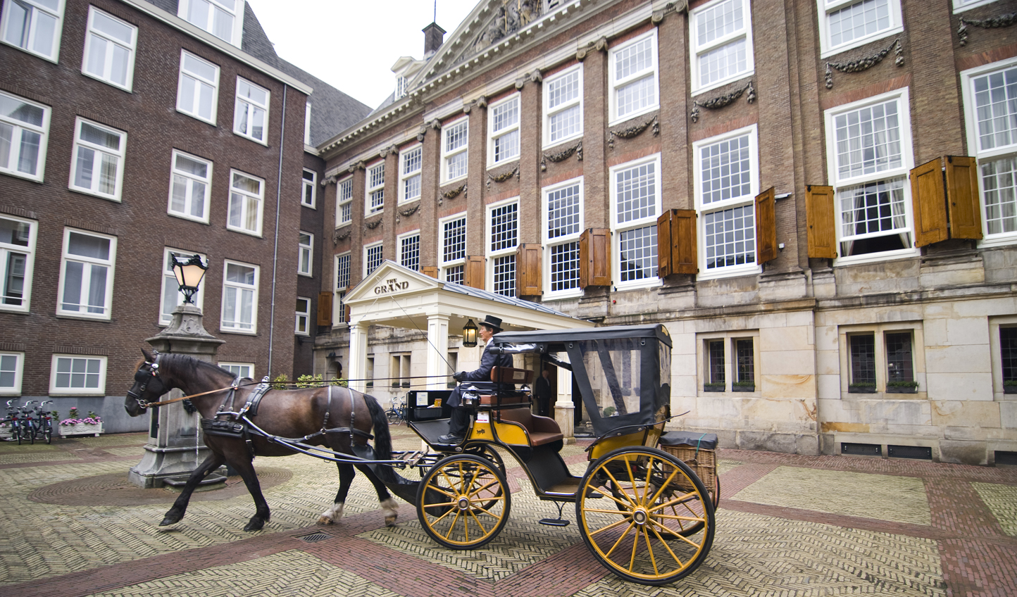 Step back in time with a horse drawn carriage