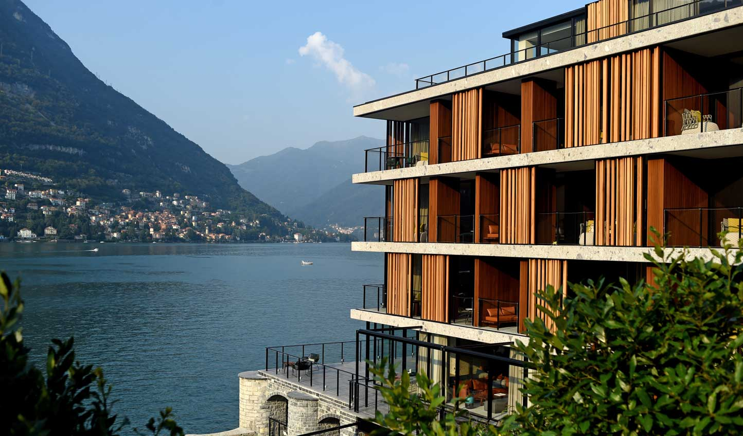 A breath of fresh air on Lake Como's traditional shores