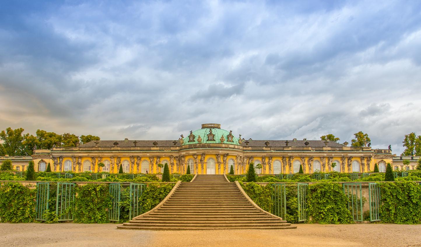 Potsdam's answer to Versailles: Schloss Sanssouci