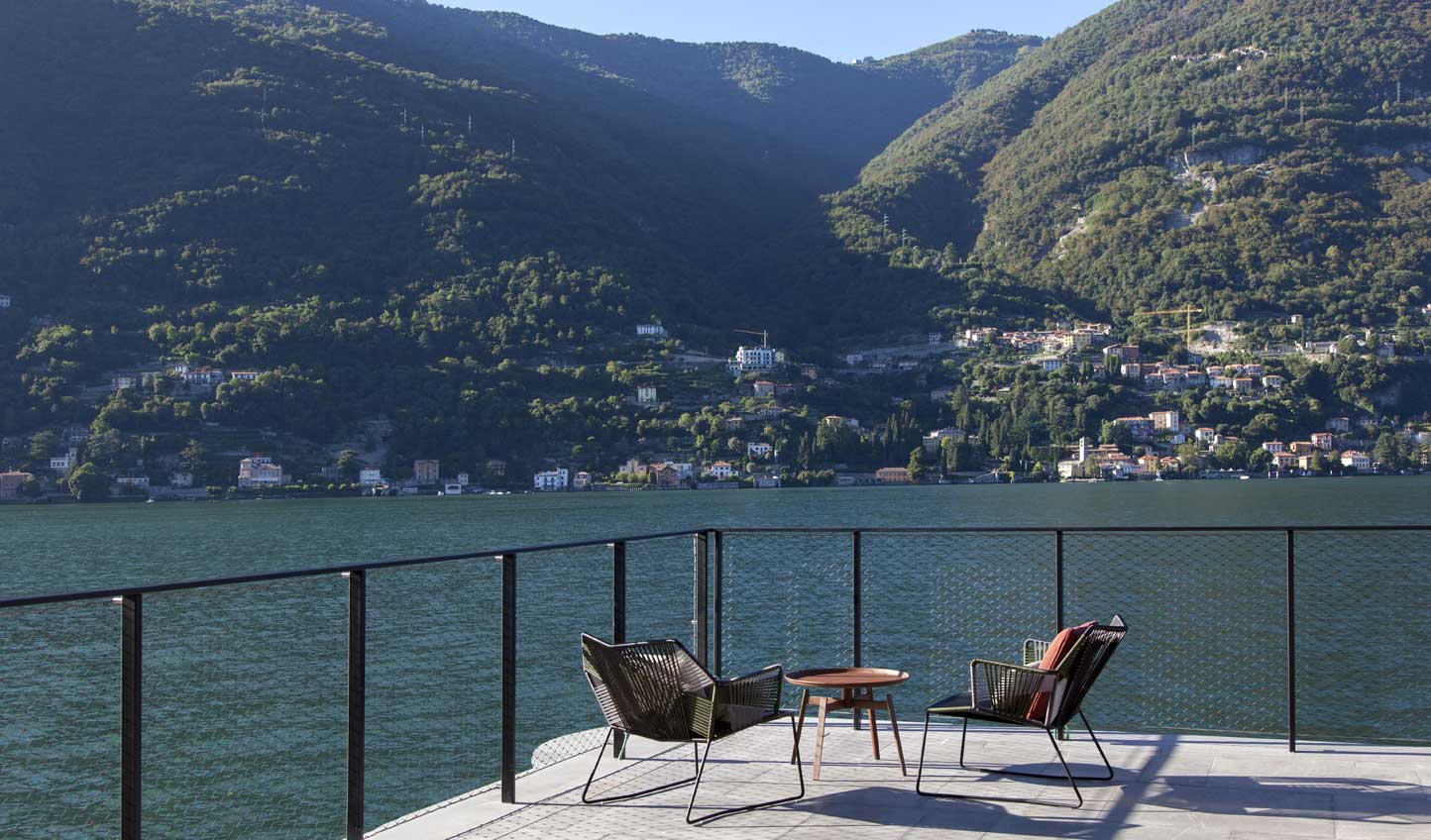 Soak up the beauty of Lake Como from the terrace