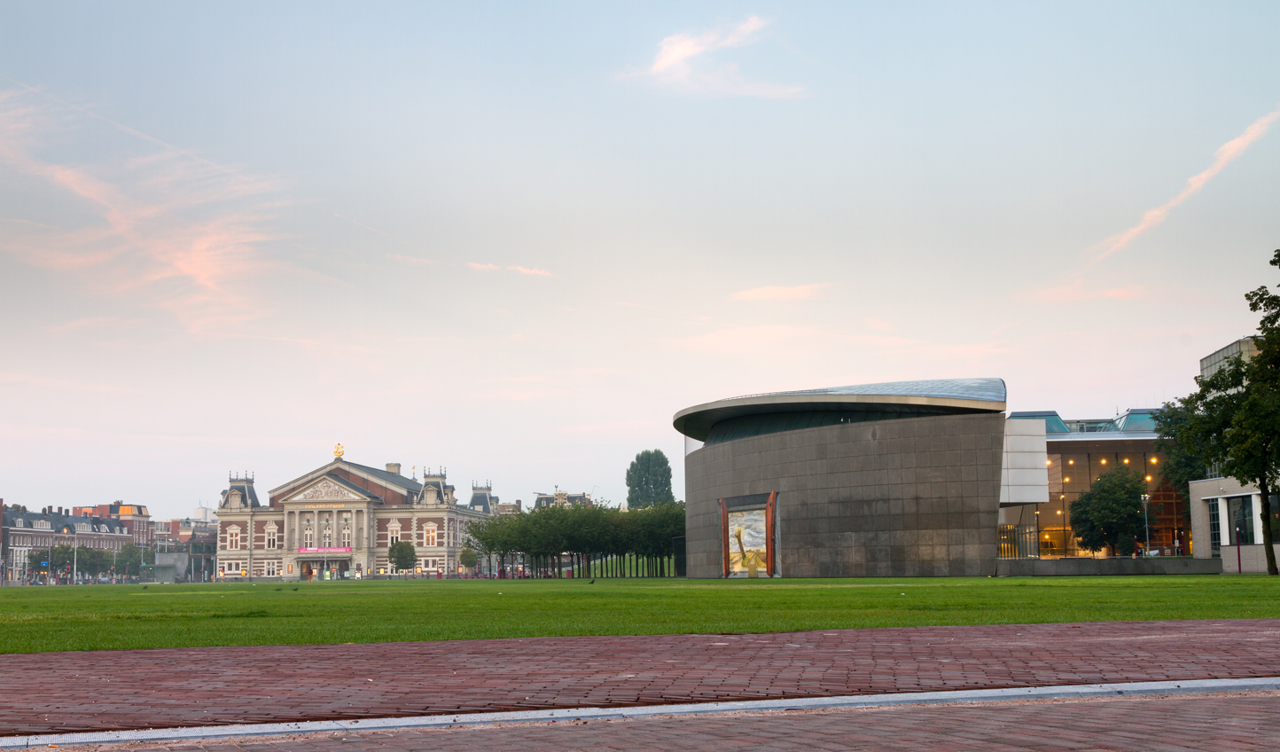 Art is never far away in Amsterdam - especially at the Van Gogh Museum