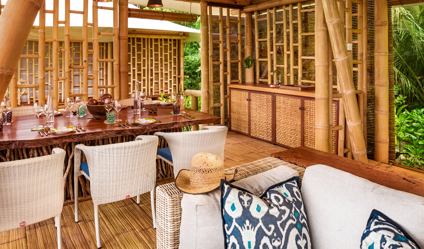 Fresh, tropical flavours served in relaxed surroundings