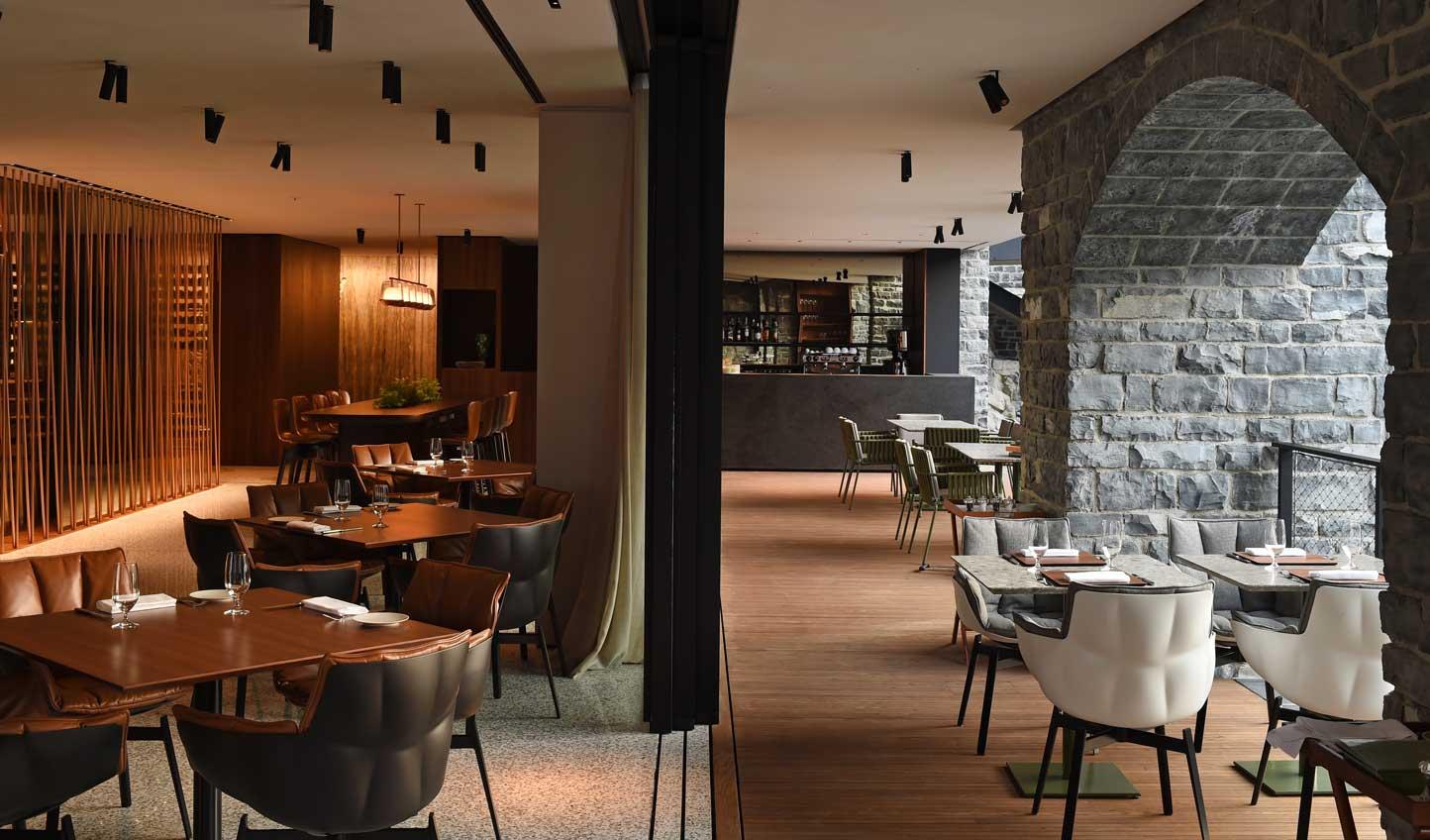 Fine dining at Berton Al Largo