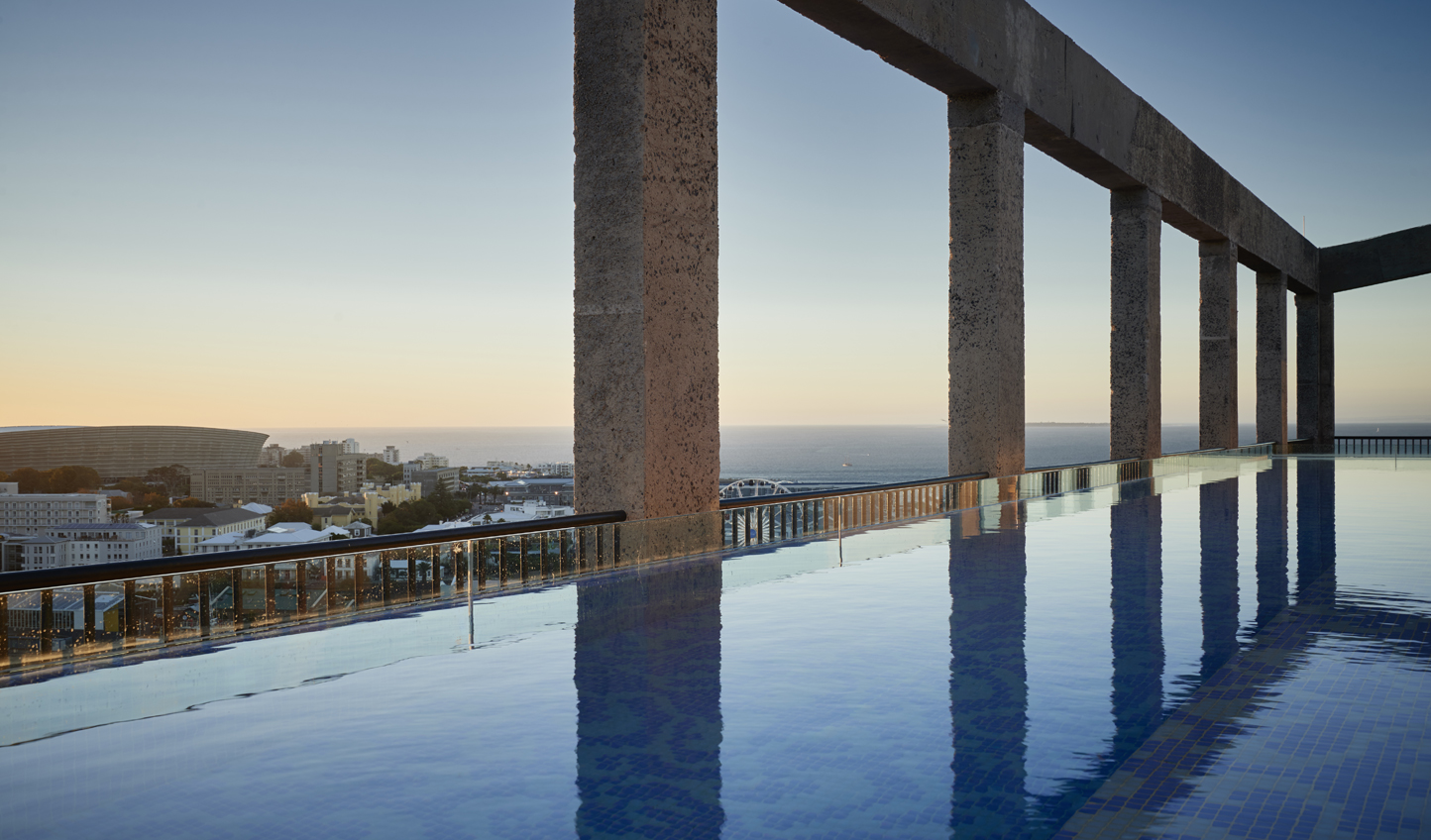 Dive in for a couple of lengths atop Cape Town