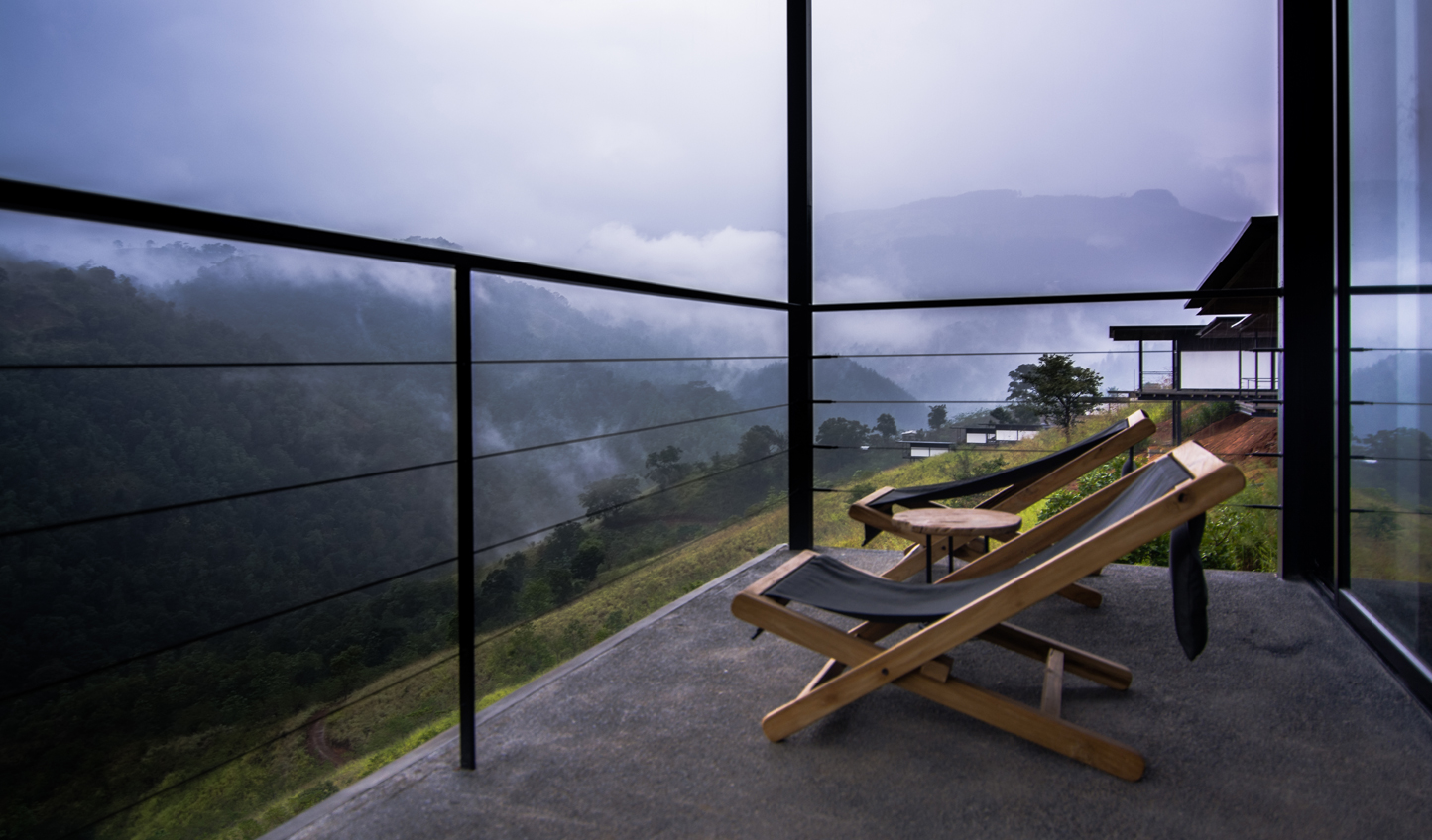 Soak in your surroundings on your private balcony
