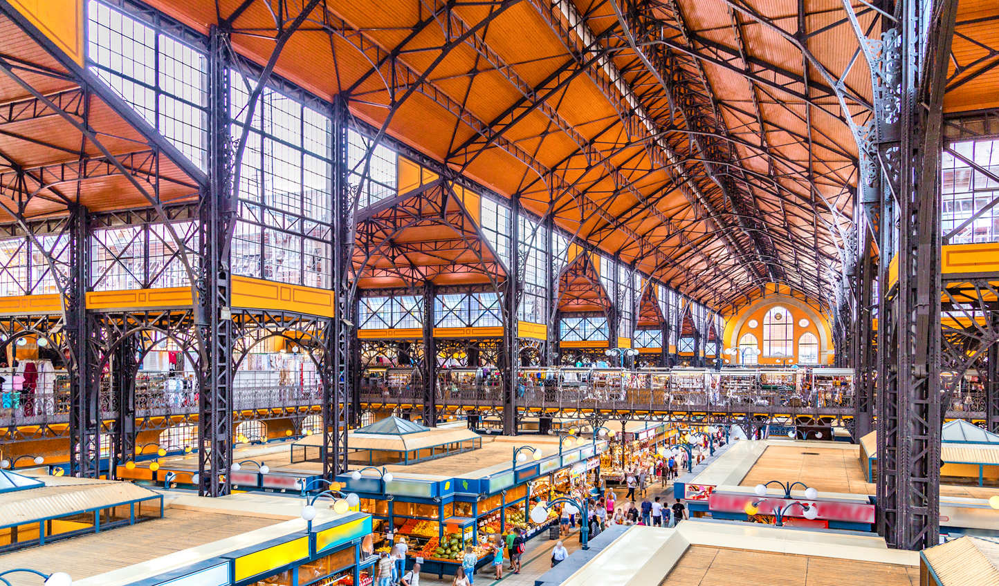 Explore Budapest's Great Market Hall