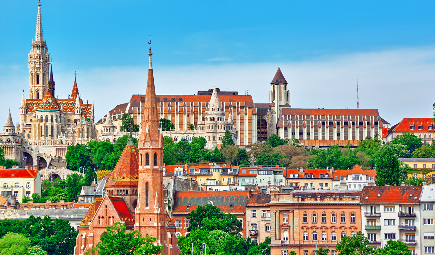 Take in Buda's hilly sights