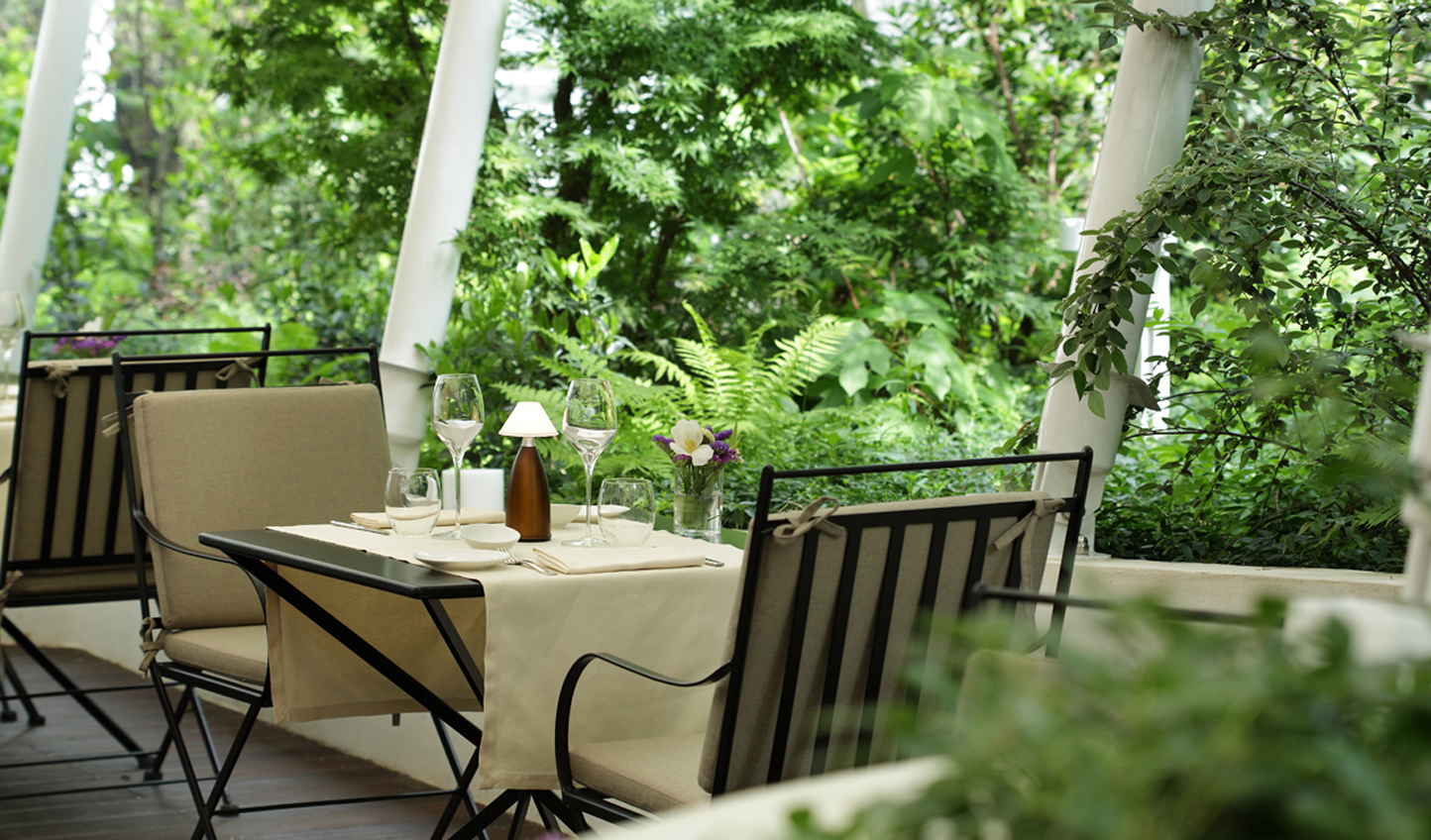 Dine out in the hidden garden