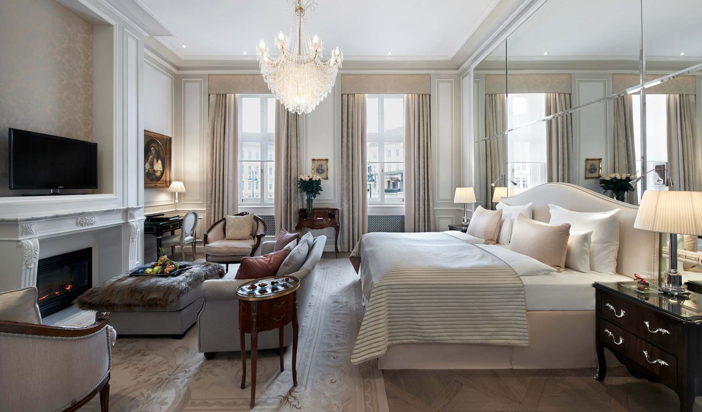 For true Viennese panache, a stay at Hotel Sacher is a must