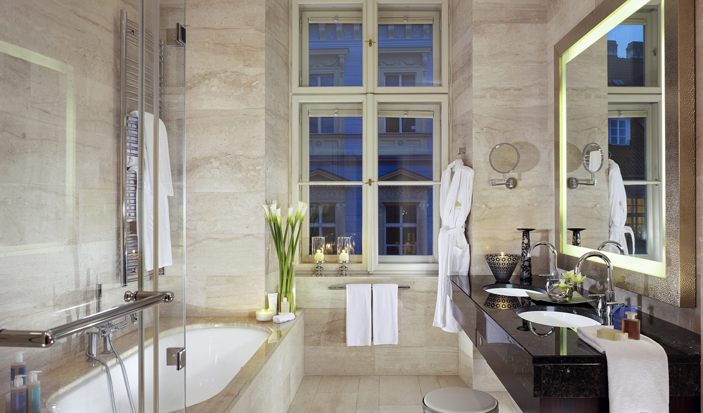 Step into luxurious bathrooms with underfloor heating