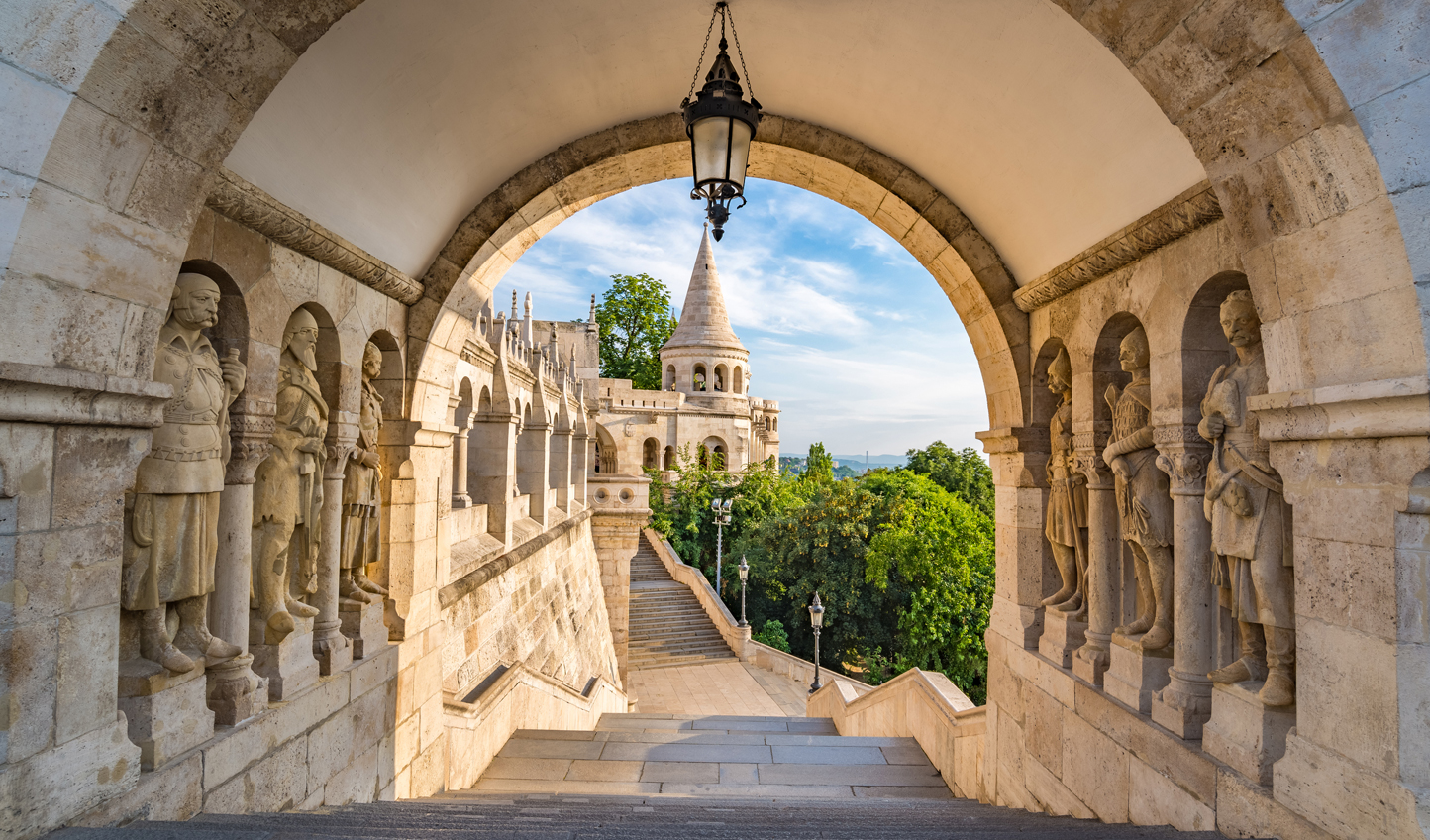 Look out over the views from the Fishermen's Bastion