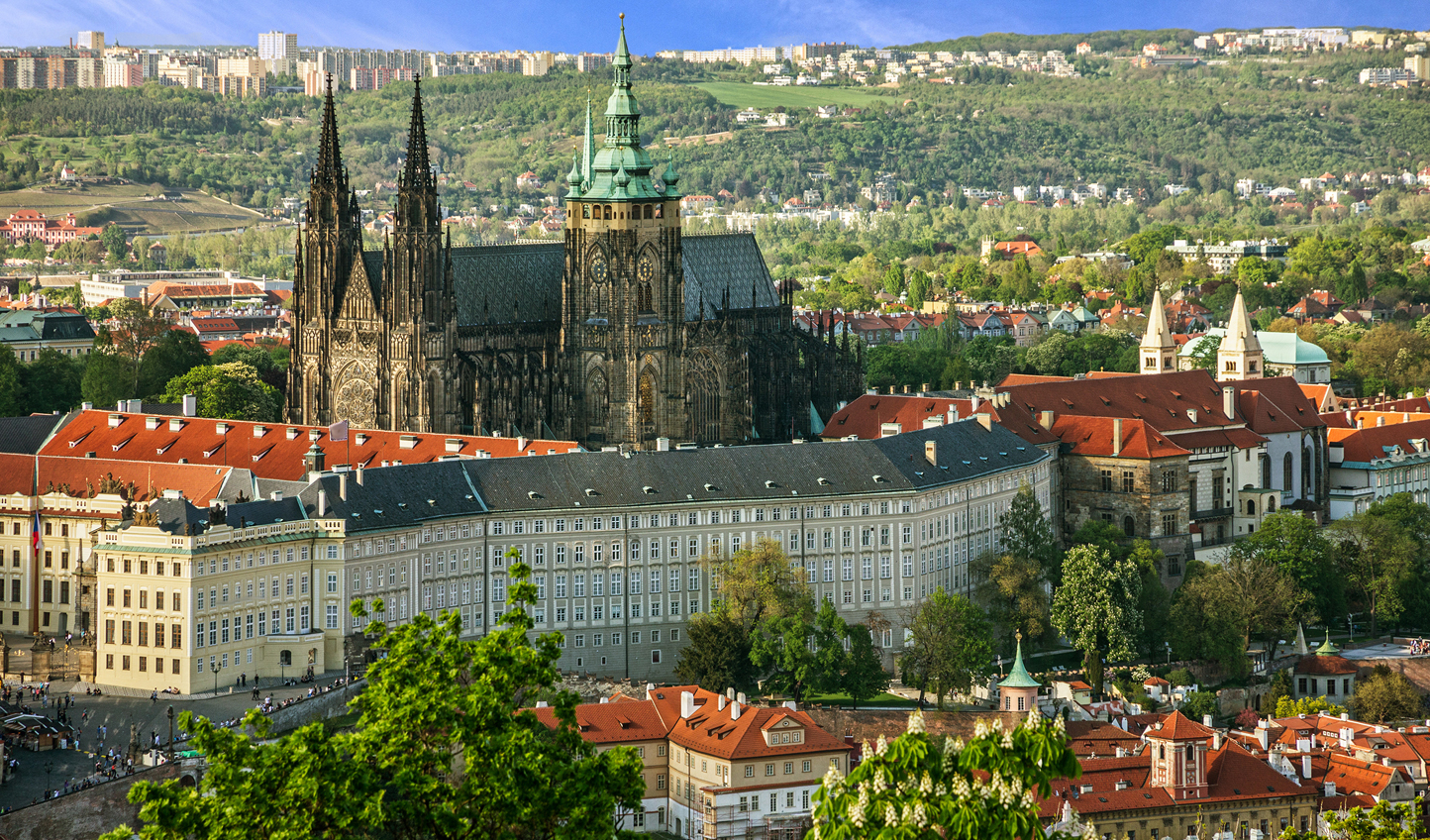 The city's crowing glory; Prague Castle and St Vitus Cathedral