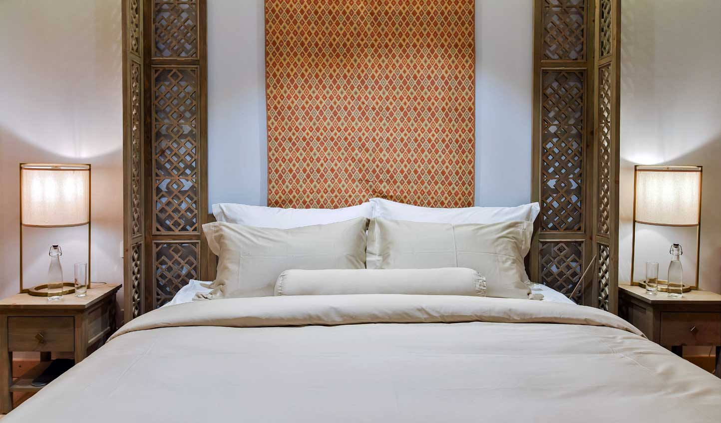 Retreat to your own private sanctuary for a peaceful night's sleep
