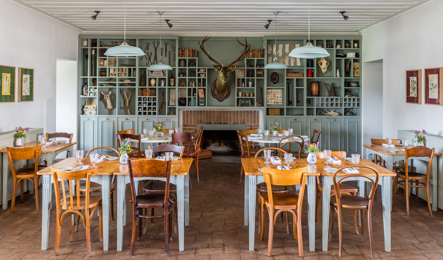Savour seasonal and organic produce in the farm-to-table restaurant