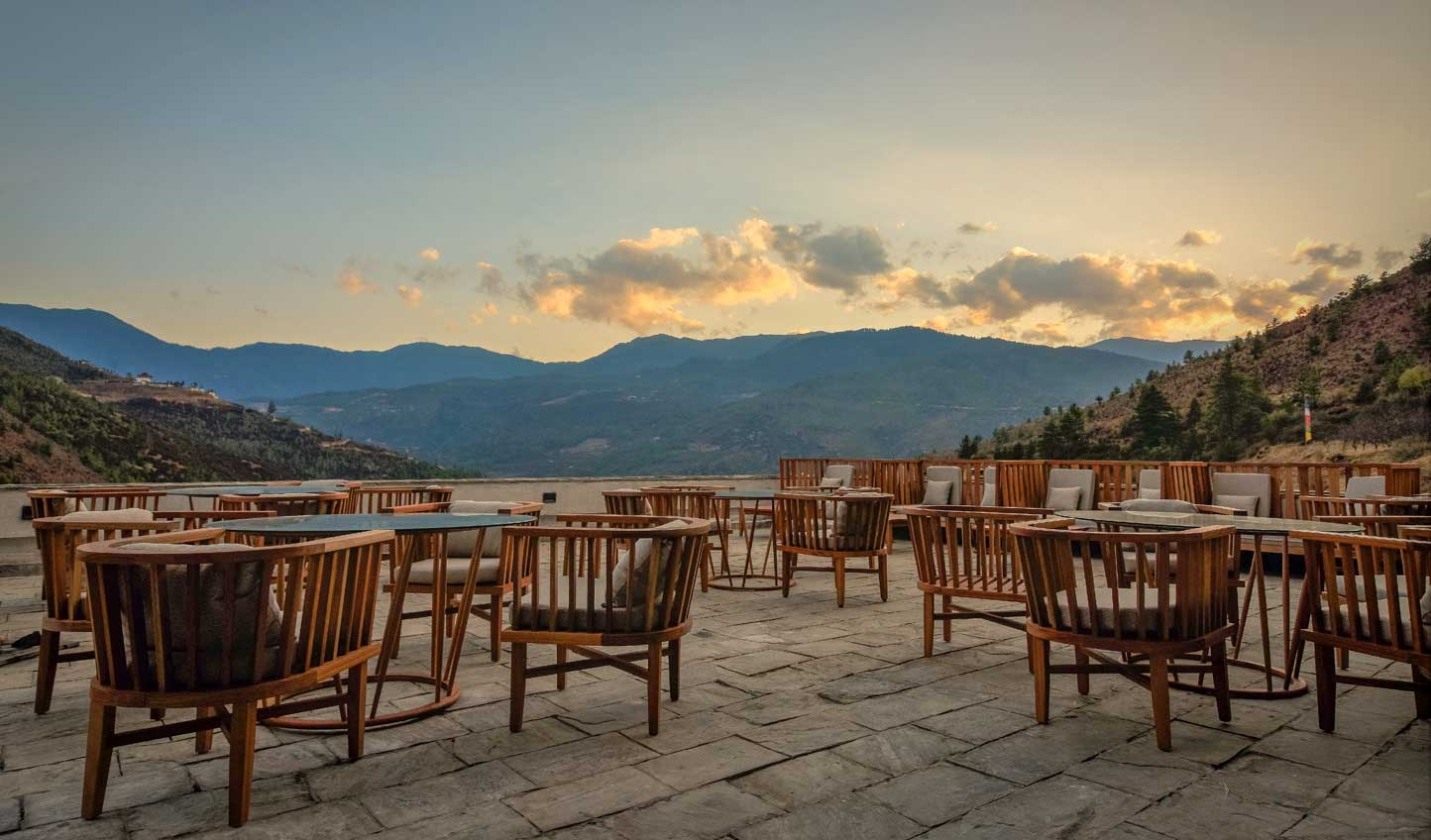 Dine beneath wide-open skies and soak up the atmosphere of this mesmerising part of the world