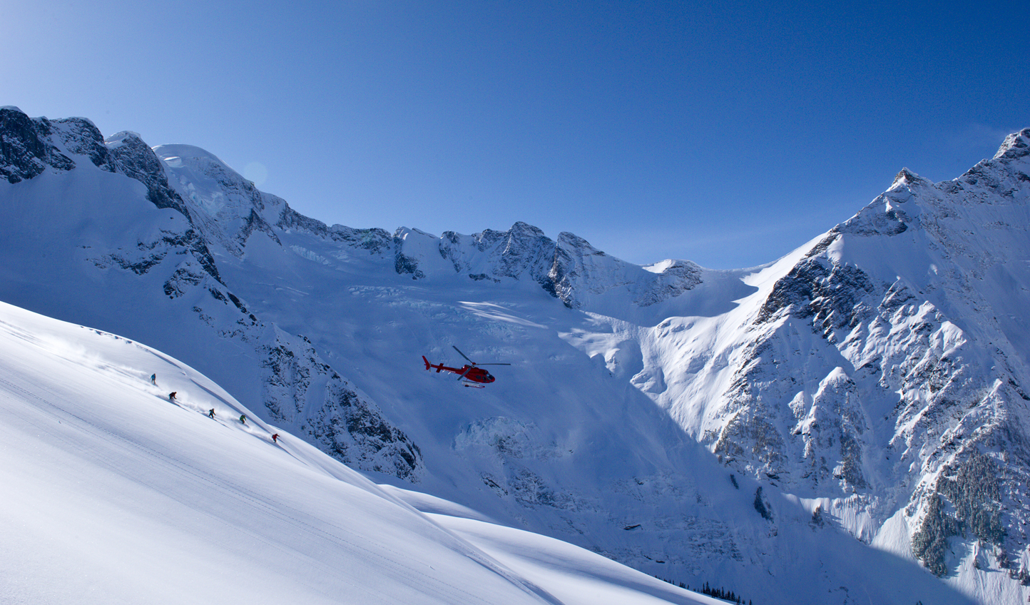 Get further and deeper into the valley with Bella Coola Heli-Sports