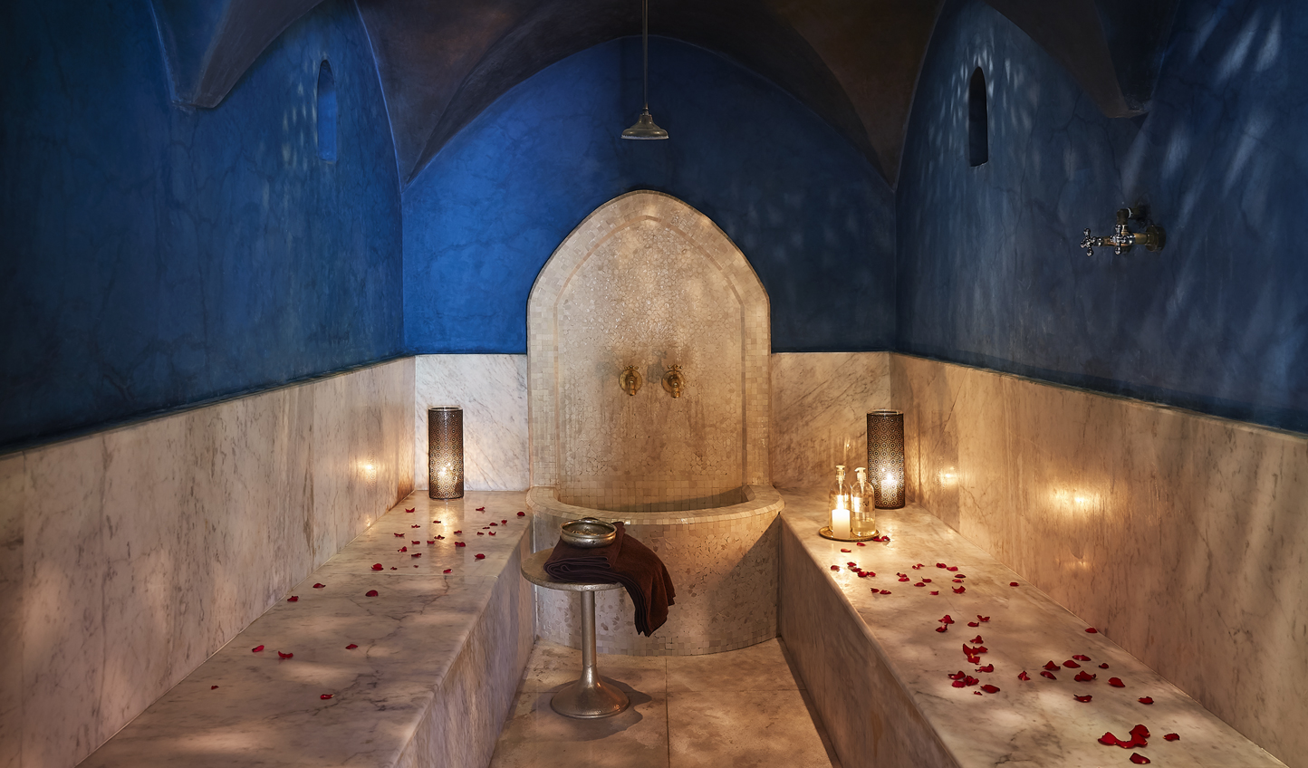 Unwind with a traditional Hammam