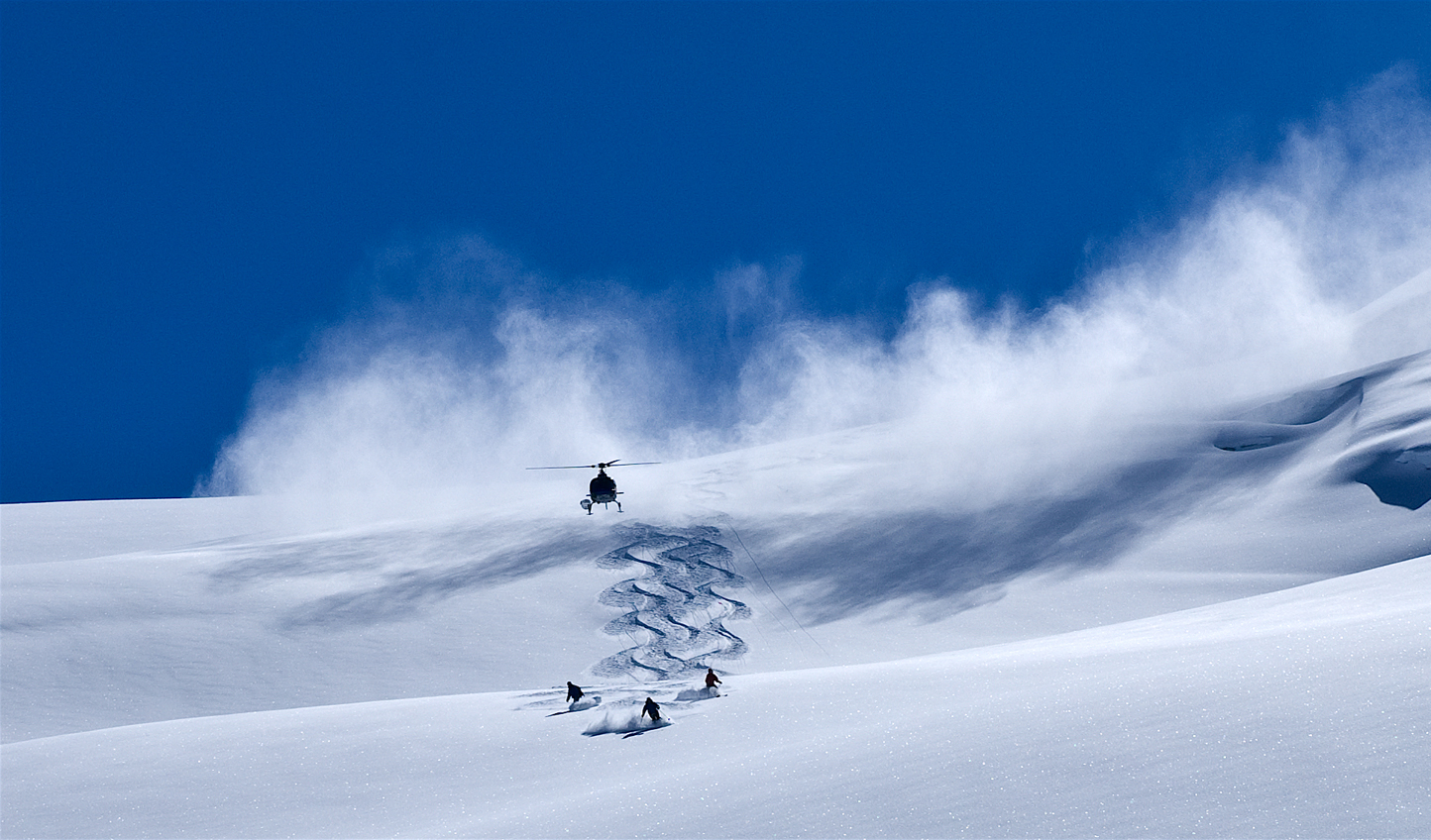 Lay fresh tracks through pristine powder