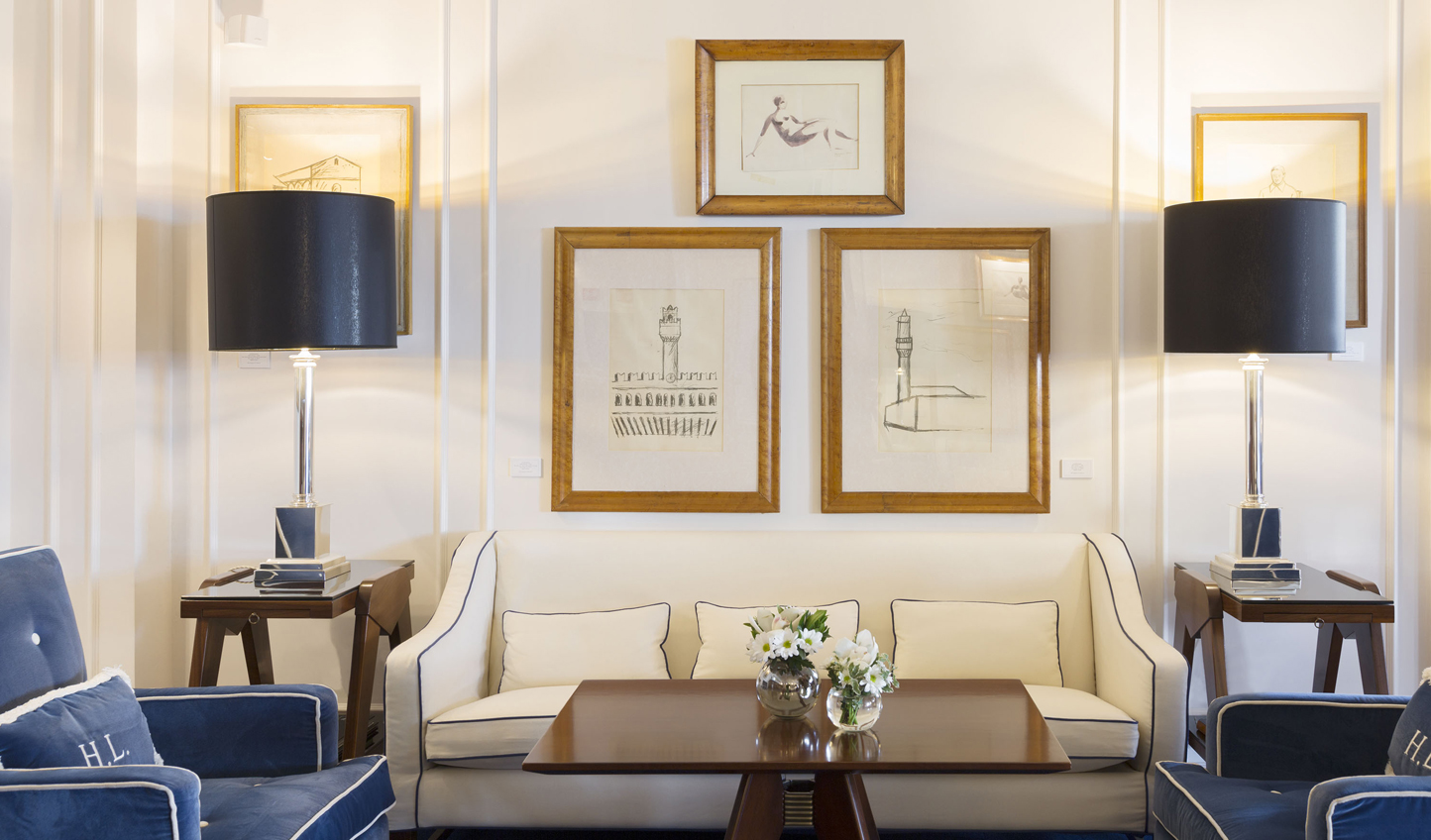 Admire the hotel's impressive, 450 strong, art collection