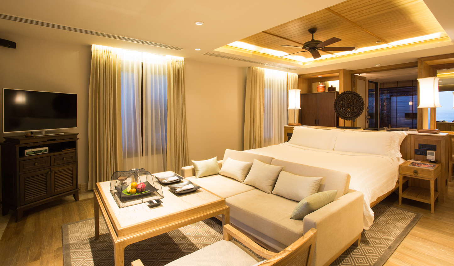 Contemporary luxury in your suite