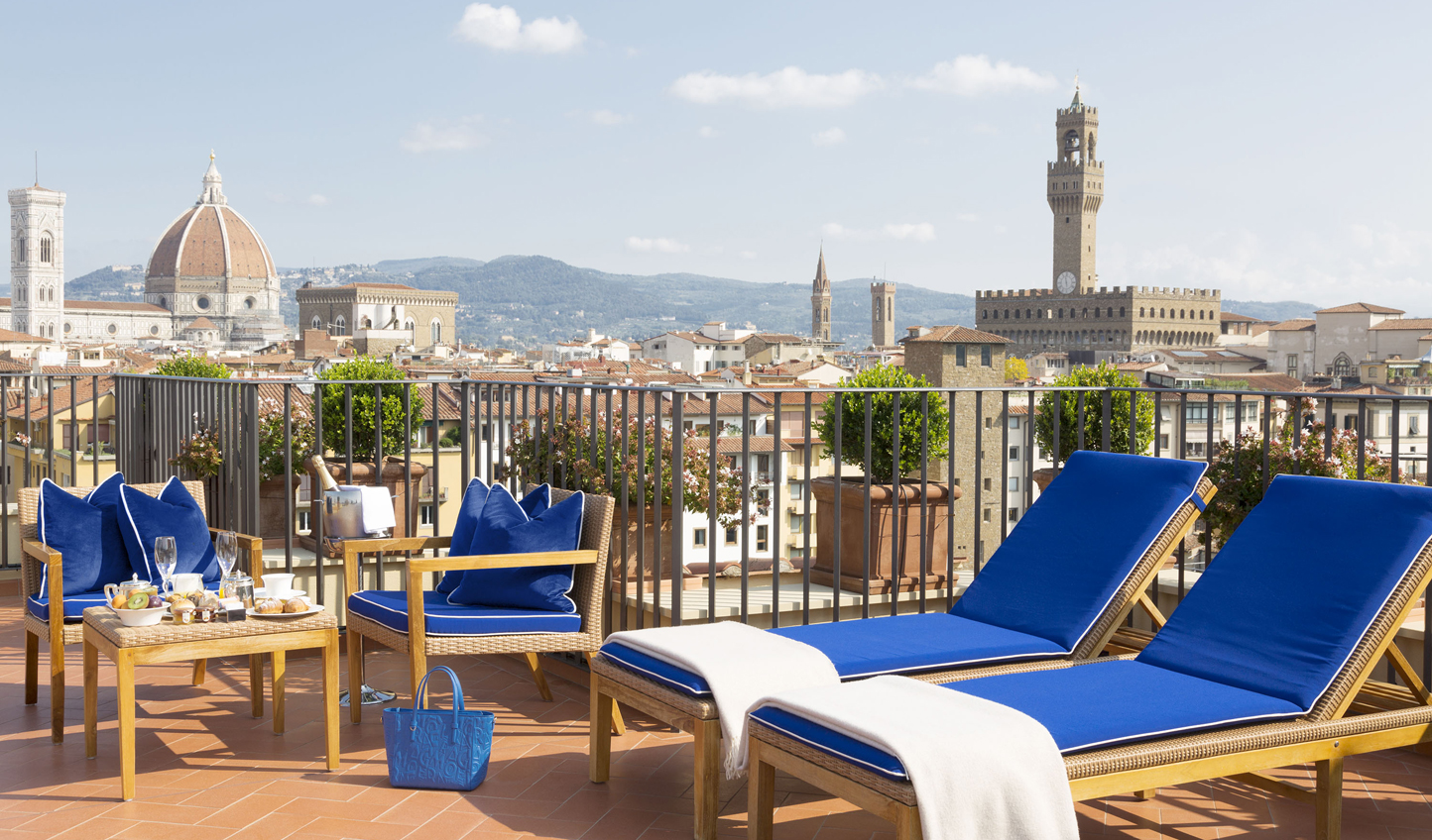 From the river to the Duomo, see it all in the Rooftop Terrace Suite
