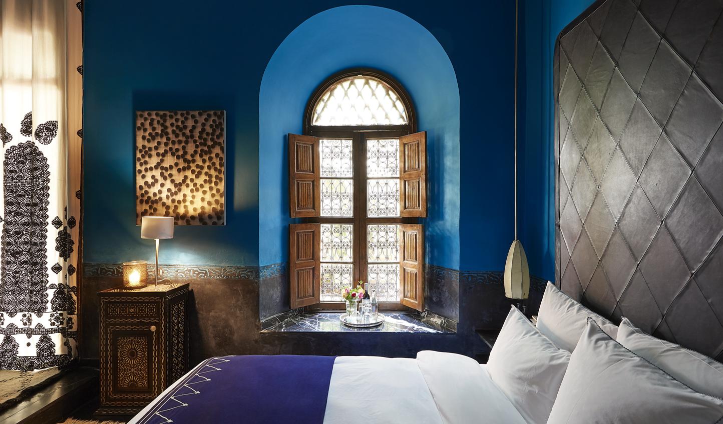 A bright colour palette meets Moorish design